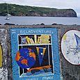 Le voyage du Beladventure II sur le port d'Horta